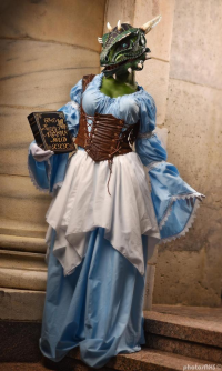 Jenna Lynn Meowri as The Lusty Argonian Maid