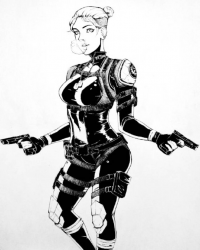 Cassie Cage from Aaron Naluz