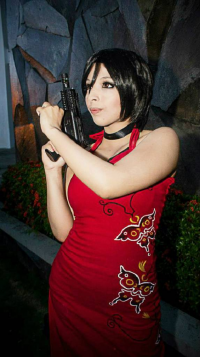 hina1515 as Ada Wong