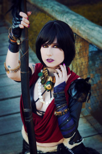 Giulia Hellsing as Morrigan