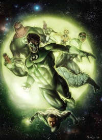 Green Lantern from Boscopenciller