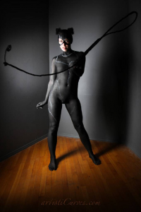 Shelle-chii as Catwoman