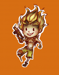 Junkrat from The-demons-heart