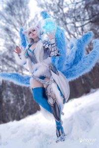 Daraya Cosplay as Ahri