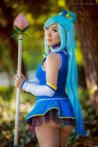 Stella Chuu as Aqua