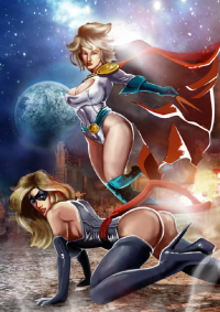 Ms. Marvel, Power Girl from collin-kerr