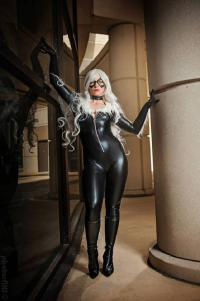 JSG Cosplay as Black Cat