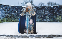 Lady Arthas Cosplay as The Lichking