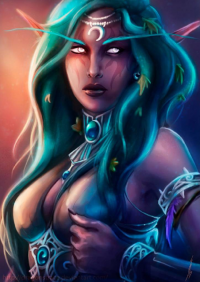 Tyrande Whisperwind from Beatriz Galiano