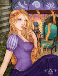 Princess Rapunzel from Sika-chan