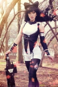 April Gloria as Blake Belladonna