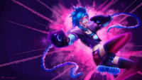 Jinx/Tracer from MysteriousPancake