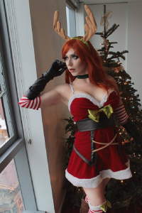 Kawaii Besu Cosplay as Katarina