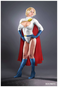 Power Girl from Cygnus Sungyc