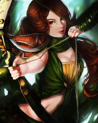 Windranger from Chooeychoco