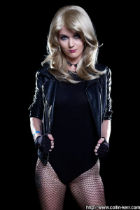 Elly Kat Cosplay as Black Canary