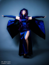 Neferet-Cosplay as Raven