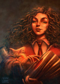 Hermione Granger from To Slash A Twisted Line