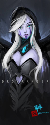 Drow Ranger from Agito.  L