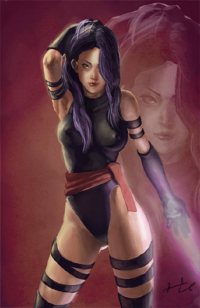 Psylocke from Youngjoon Song