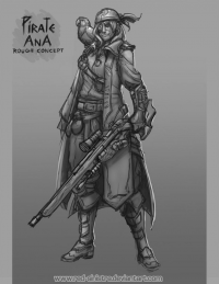 Ana Amari/Pirate from Red-Sinistra
