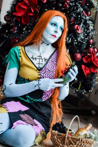 Sajalyn as Sally Skellington