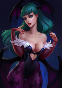 Morrigan Aensland from Anna Maystrenko