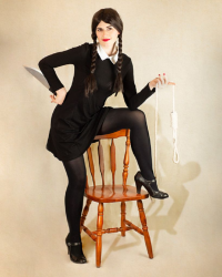 Star Leigh Cos as Wednesday Addams