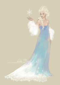 Elsa of Arendelle from Aida Piris