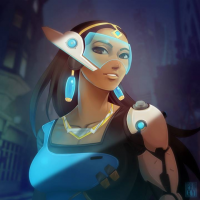 Symmetra from Proxyillustration
