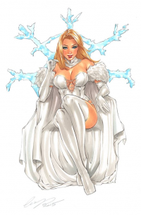 Emma Frost from Elias Chatzoudis