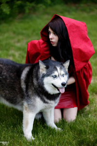 Ryuu Lavitz as Little Red Riding Hood