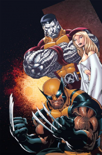 Colossus, Emma Frost, Wolverine from eddy-swan