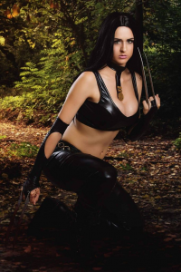 Juby Headshot as X-23