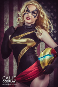 Leah Burroughs as Ms. Marvel