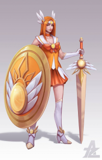 Leona from Lan Party