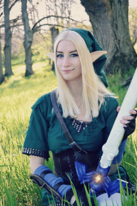 Enyu Cosplay as Link