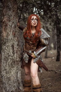 Valennia Cosplay as Aela the Huntress