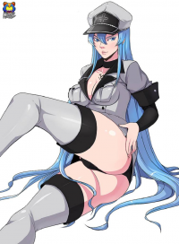 Esdeath from Kyoffie Ilustrator