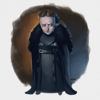 Lyanna Mormont from Leandrofranci