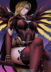 Mercy/Witch from janvill