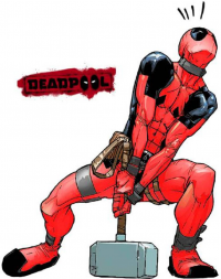 Deadpool from Carlos Xavier