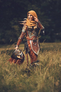 Laura Jansen as Khajiit Armor