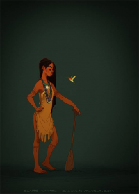 Pocahontas from Claire Hummel