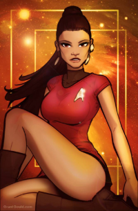 Nyota Uhura from Grant Gould