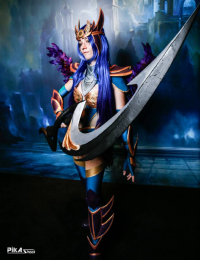 Bahamut Cosplay as Diana
