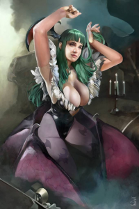 Morrigan Aensland from Daniel Vendrell Oduber