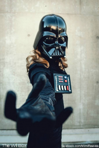 Mimi Reaves as Darth Vader
