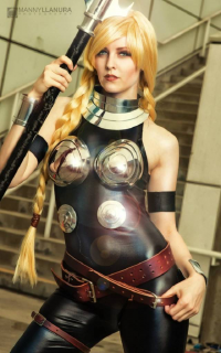 Maid of Might Cosplay as Valkyrie