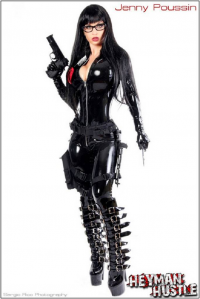 Jenny Poussin as The Baroness